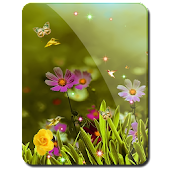 Cool Summer Birds n Flowers HD