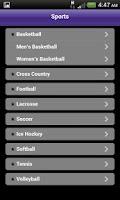 Screenshot of myCurry Mobile