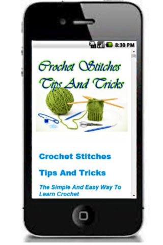 Crochet Stitches Tips Tricks