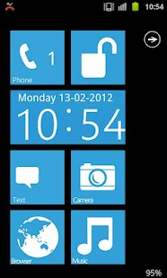 Metro WP7 GO Locker HD - screenshot thumbnail