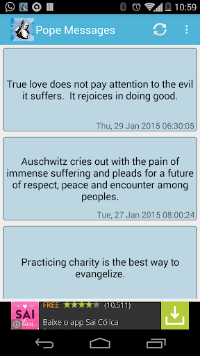 Pope's Messages