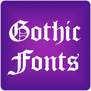 App Gothic Fonts for FlipFont Free APK for Windows Phone