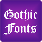 Gothic Fonts for FlipFont Free icon