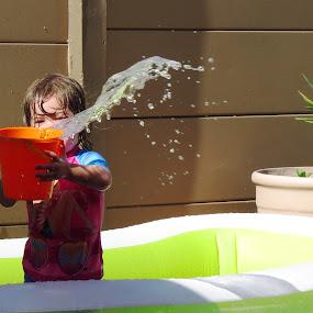 Chaney by Kleintjie Loots - Babies & Children Children Candids ( water )