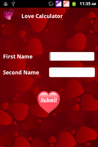 Real Love Test Calculator Android Screenshot