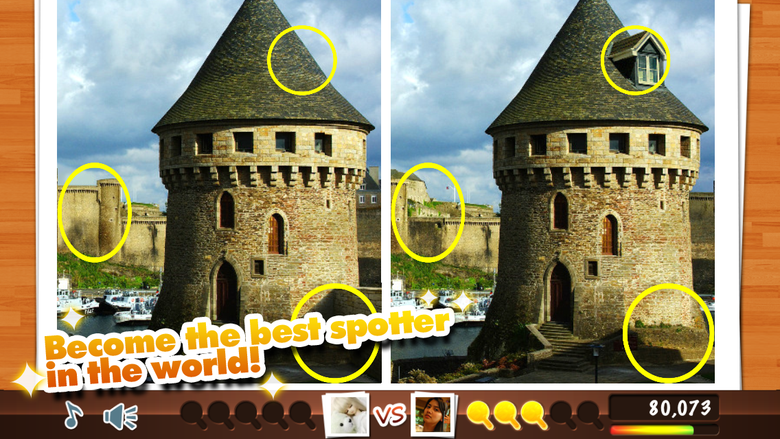 Spot Differences: Challenge! - screenshot