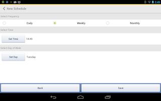 Screenshot of truBackup - Mobile Backup