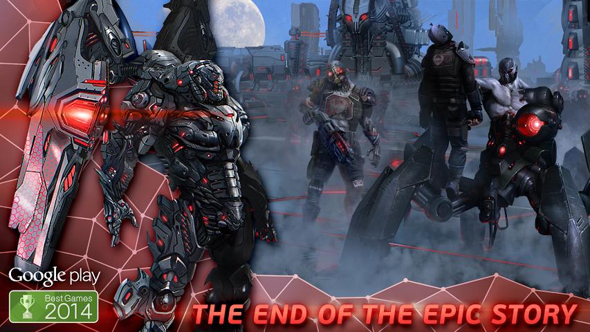 android Evolution: Battle for Utopia Screenshot 0
