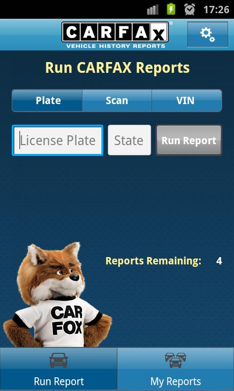CARFAX Reports - screenshot
