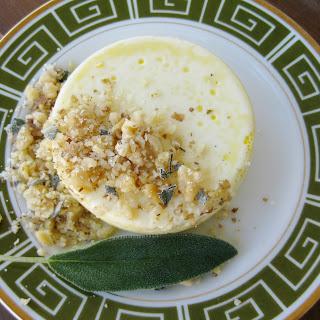 Buttermilk Sage Custards - The Pretty One.