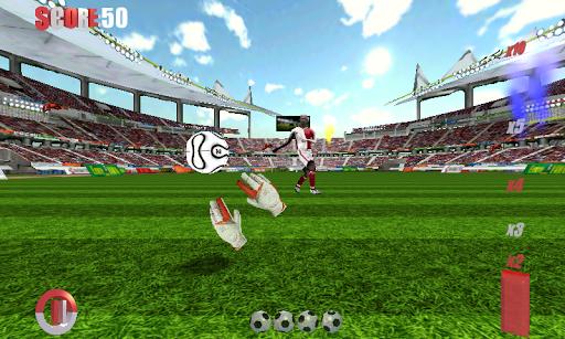 守門員的足球比賽3D