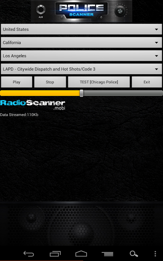 Police Scanner Radio Scanner - screenshot
