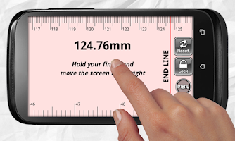 Screenshot of ON Measuring Tape