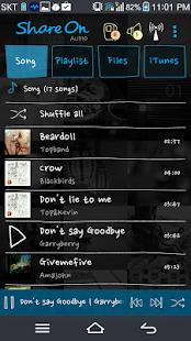 ShareON DLNA WiFi Music Player - screenshot thumbnail