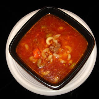 Crock-Pot Minestrone (Whip It Up Wednesday!).