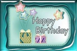 Screenshot of Birthday Card