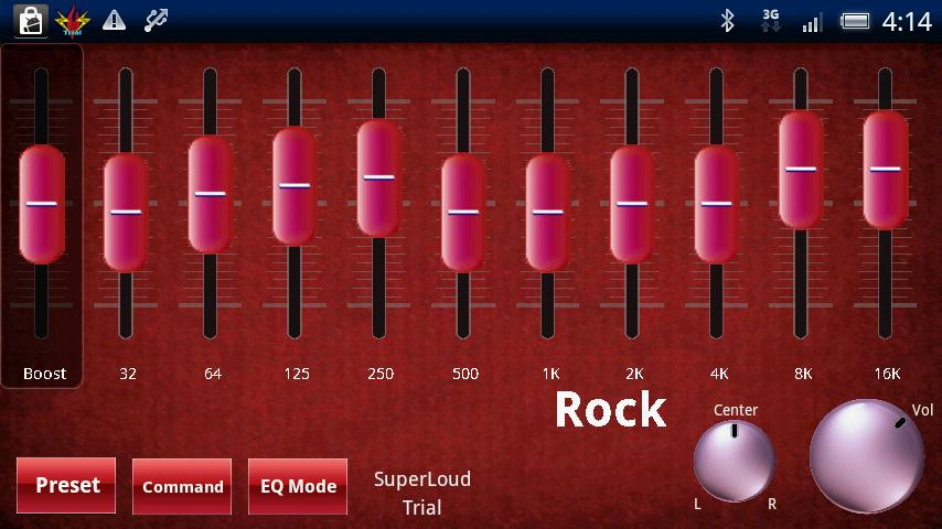 SuperLoud Trial, Audio Player - screenshot