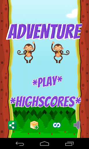 Monkey Adventures Game