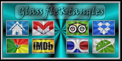 Glass FleKtangles Icon Pack