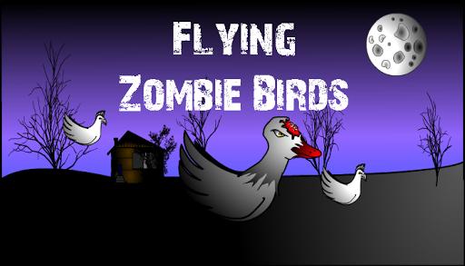 Flying Zombie Birds