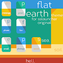 Flat Earth Theme ssLauncher OR