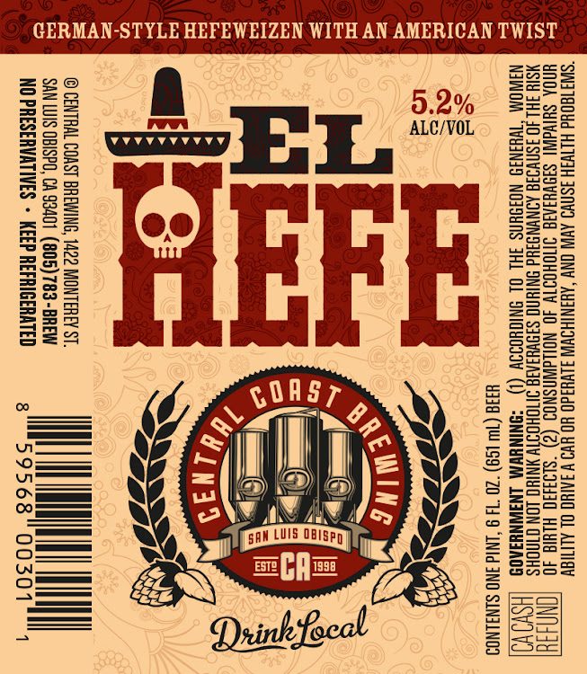 Logo of Central Coast Brewing El Hefe