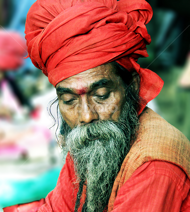 by Anup Biswas - People Portraits of Men