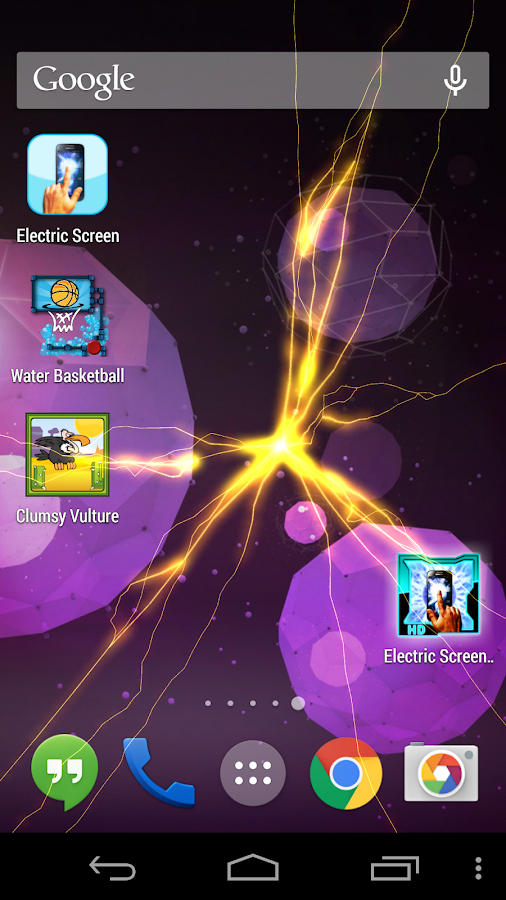 ELECTRIC SCREEN HD LIVE WALL- screenshot