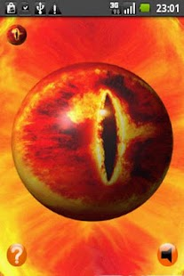 3D Eye of Sauron - LOTR - screenshot thumbnail