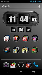 3D Animated Flip Clock PRO- screenshot thumbnail