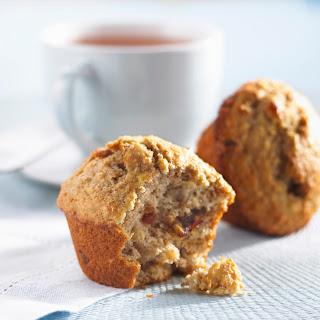 Banana, Walnut & Date Muffins.