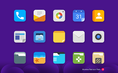 Morena - Flat Icon Pack v3.0.3