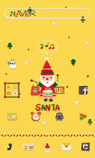 SantaBand dodol launcher theme- screenshot thumbnail