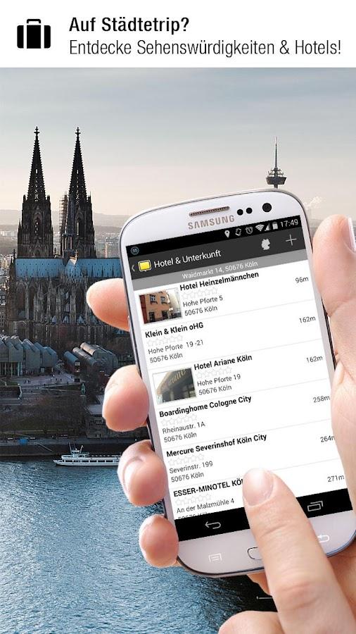 meinestadt.de – alles lokal!- screenshot