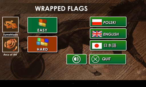 Wrapped Flags Puzzle - Lite