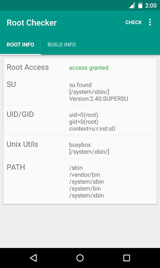 Root Checker - screenshot