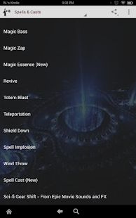 Epic Magic Game Sounds and FX - screenshot thumbnail