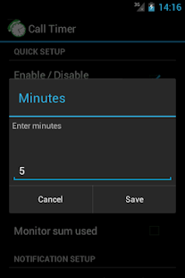 Call-Timer - screenshot thumbnail
