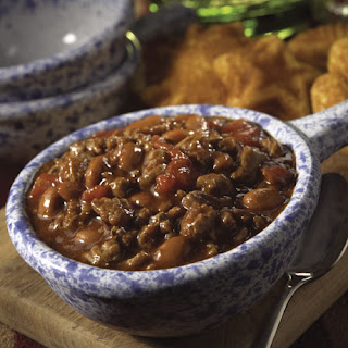Quick and Hearty Turkey Chili.