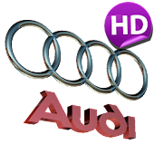 3D AUDI Logo HD Live Wallpaper