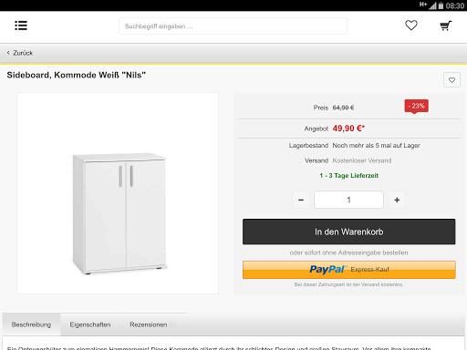 m bel jack app app. Black Bedroom Furniture Sets. Home Design Ideas