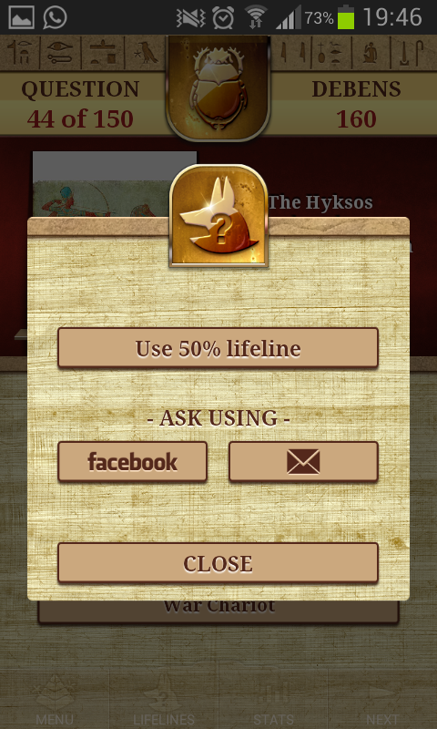 Genius - Quiz Ancient Egypt- screenshot