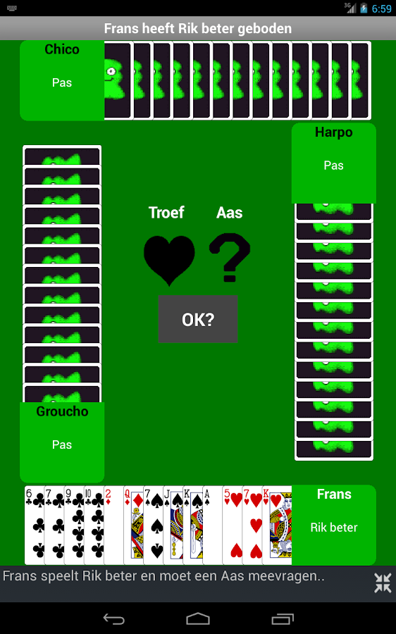 Toepen Plus - screenshot