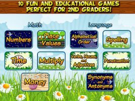 Screenshot of Second Grade Learning Games