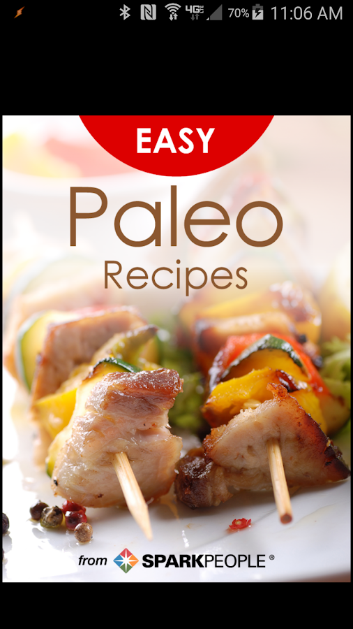 Easy Paleo Recipes- screenshot