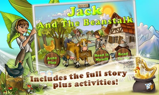Jack & the Beanstalk Kids Book - screenshot thumbnail