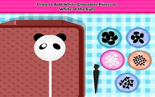 Panda Mini Pops Cooking- screenshot thumbnail