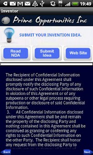 Inventors Submit Your Idea's - screenshot thumbnail