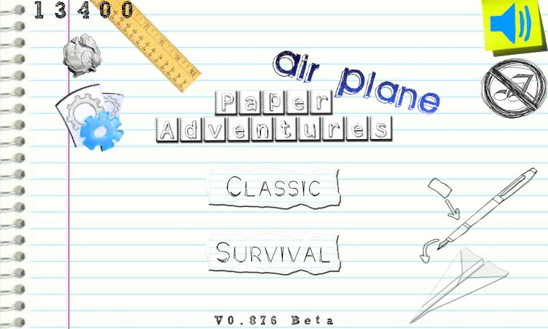 Paper Adventures: Plane (Free) - screenshot