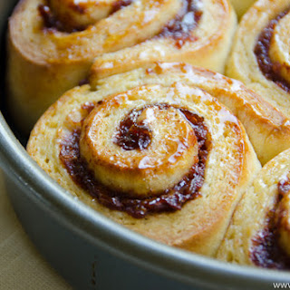 Cranberry Black Pepper Sweet Rolls